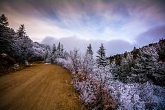 Placitas to Albuquerque, the Scenic Route (mwwile) Tags: winter newmexico sandiamountains eastmountains nm165 highway165