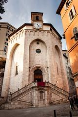 Perugia - Sant'Ercolano (Alessandro Nenci) Tags: italy church stone italia medieval chiesa age middle pietra perugia medievale umbria medioevo santercolano