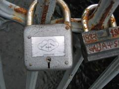 Love Locks in Vilnuis