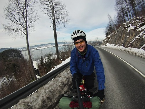 Into the mountains #r2s #adventure #mountains #winter #snow #cycling