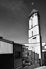 Torre de los Trinitarios, Con (jfmdelpozo) Tags: blackandwhite bw espaa blancoynegro geotagged blackwhite andaluca spain torre andalucia bn esp mlaga con trinitarios geo:lat=3665744460 geo:lon=476123553