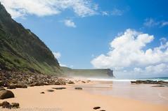 Garie Beach (JimmyBBlaze) Tags: park cliff feet beach pool rain rock royal footprints sunny dirty national thongs coal kiama garie coalcliff