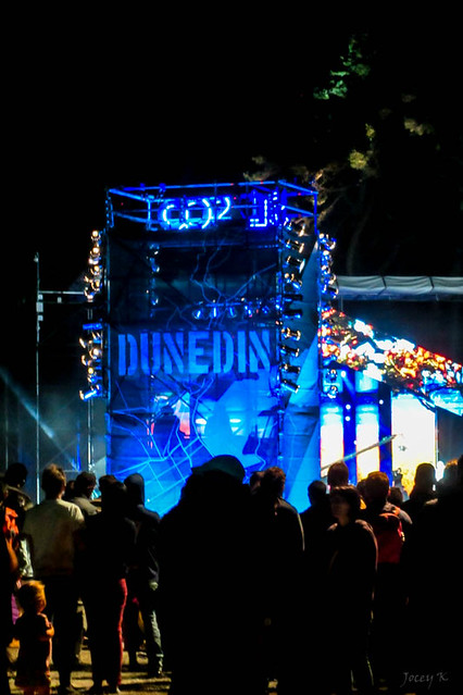 Dunedin in Blue
