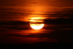 The February Sun (bbosica20) Tags: sunset sky sun nature clouds skies pennsylvania gettysburg february 2015 absolutelystunningscapes 2015sunset