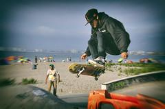 skater (Francisco Vidal) Tags: boy urban sport jump skatepark skate deporte skater salto urbano sk8 extream