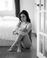 . (Sandy Phimester) Tags: portrait film analog bedroom kodak trix sensual 4x5 largeformat speedgraphic 320txp