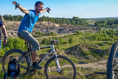 *** (Artur (RUS) Potosi) Tags: 2012 portrait guy man cyclist bike outdoor bicycle