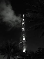 Burj Khalifa (ameya586) Tags: night clouds dubai khalifa burj