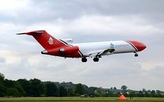 Oil Spill Response Boeing 727-2S2FAdv(RE) Super 27 G-OSRB Low Pass (Mark 1991) Tags: rafcosford cosford boeing 727 727200 727200adv 727200f super27 gosrb oilspillresponse