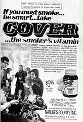 Cover Vitamins ad, 1975 (STUDIOZ7) Tags: smoking smoker cigarettes men women party 1970s seventies 70s naturesbounty cover vitamins