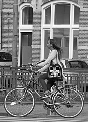 The morning after (Dutch_Chewbacca) Tags: life street city morning girls summer people urban blackandwhite bw woman max netherlands girl monochrome canon eos 1 women europa europe pretty raw venus weekend feminine candid air centre sunday den nederland citylife strangers streetphotography july sigma streetlife nike human after unposed denbosch sneaky bosch streetview shertogenbosch urbanlife the dlsr 2016 073 duketown straatfotografie unpolished