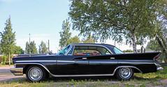 1961 Desoto (crusaderstgeorge) Tags: crusaderstgeorge 1961desoto 1961 desoto blackcars cars classiccars chrome americancars americanclassiccars americancarsinsweden gävle gävleborg järnvägsmuseet järnvägsmuseum worldcars