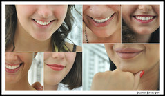 Labbra (Valiena) Tags: collage bellezza donne sguardi sorrisi eyes look sweet smile valentina defassi creazioni creation labbra bocca