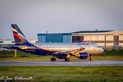 DSC_1620 (J.Dillemuth) Tags: aeroflot helsinki finland aviation helsinkivantaaairport nikon d750 nikkor 70300