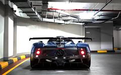 AG. (Alex Penfold) Tags: pagani zonda 760 ag supercars supercar super car cars autos alex penfold 2016 dubai blue carbon 760ag