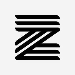 Z (albyantoniazzi) Tags: italy milan logo typography symbol monogram stripes icon type letter zelda z lettering blacknwhite logotype