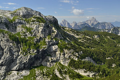Waiting to climb.... (matteo.buriola) Tags: panorama rio trekking landscape nikon hiking creta climbing dolce val di 1855 carnia alpi friuli secco aip ferrata carniche d3100