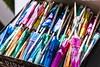 Parasol Picks (Chris B Richmond) Tags: sun color colour umbrella canon lens outside prime daylight al rainbow colorful day box outdoor alabama sunny parasol toothpicks tuscaloosa dslr package assortment picks t4i