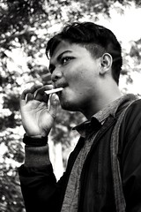 The man with cigars (rizwanhermawan) Tags: man cigars cigarette indonesia handsome cool nikon
