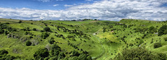 A Fine View (Explore #14) (amber654) Tags: england derbyshire litton cressbrookdale dale valley viewpoint pano panorama peakdistrict nationalpark peak sky clouds walking nikon nikond5100 d5100 18105 landscape field hill