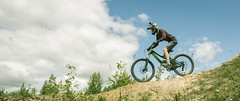 Red Crawfish Rampage 2016 (Serbian Dictator) Tags: red summer bike sport ride extreme crawfish event mtb dust fr rampage 2016 mountaing