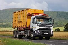 Daviot Farms Limited Volvo FMX K18 DFL (Kilmachalmag) Tags: skip rollover skips council highland inverness volvo fmx