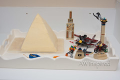 Pyramid Cake (AW Inspired Cakes) Tags: cake sand ancient lego pyramid egypt sarcophagus