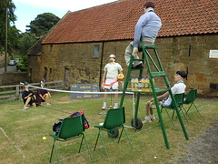 Wimbledon (Munki Munki) Tags: 2016scarecrowfestival hinderwell portmulgrave nyorks scarecrow highlycommended wimbledon tenniscourt net tennisplayers robinsonslemonandbarleywater umpire ballboyswellgirls