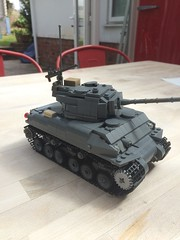 LEGO M4A3E8/76 (W) (-Will) Tags: lego sherman tank world war ii