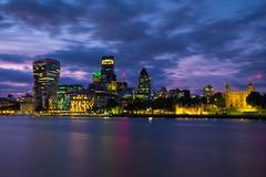 London skyline (cjthorose) Tags: london england unitedkingdom gb longexposure citysatnight cityview amazingview amazing fuji xt10 1650 greaterlondon