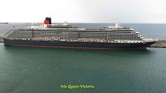 MS Queen Victoria (Mondialus P) Tags: queen viktoria cunard line italien civitaveccia victoria
