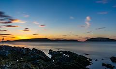 Last Midnightsun. (Kjell75) Tags: vard varanger norway finnmark sunset midnightsun sea nature outdoor sky cloud infinity ngc pentaxart northernnorway