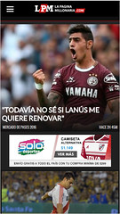 Solo Deportes - 320x100 - Mobile - Mayo/Junio - Argentina (FutbolSites) Tags: solodeportes 320x100 mobile argentina banner indumentaria river lapaginamillonariacom lpm 2016