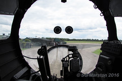 Avro Lancaster B VII Bomb Aimer's Position (Merlin_1) Tags: bombercounty lincolnshireaviationheritagecentre lincolnshire lincs eastkirkby airfield raf bombercommand royalairforce museum avro lancaster bvii nx611 justjane bomber ww2 worldwar2 57squadron 630squadron bombaimer