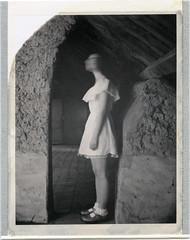 E. (denzzz) Tags: portrait polaroid polaroid672 blackwhite blackandwhite expired experiment ghost analogphotography instantfilm snapitseeit abandoned beautifuldecay derelict urbex mamiyauniversal skancheli