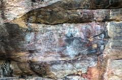 Kakadu National Park Aborigional rock painting ancient -2