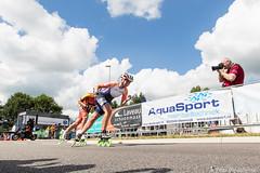 2016-07-30 EK Skeeleren Steenwijk (107a) (Peter Donderwinkel) Tags: ekskeeleren2016steenwijk inlineskating seniorladies junioraladies ek klimvansteenwijk schaatsennl kpn skeeleren outdoor sport event speed race canon