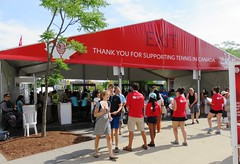 Security (Hear and Their) Tags: rogers cup toronto 2016 aviva tennis professional djokovic canada