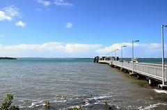 LOX_2991 (LoxPix2) Tags: loxpix ferry wellingtonpoint australia architecture aircraft boat birds building catamaran trimaran clouds panorama park photos pelican panoramic coochiemudloisland queensland