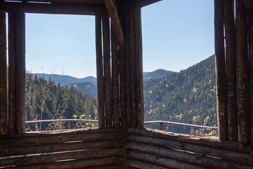 Vue sur la vallée Burgbachtal