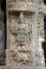 Avatar of Vishnu (VinayakH) Tags: talakad karnataka india temple hindu chola gangadynasty hoysala carvings vaidyeshvara kirtinarayana