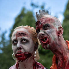 Zombie 2016 #3 (Michael Cavn) Tags: stockholm sverige 2016 sweden europe scandinavia zombie man woman outdoor people blood portrait
