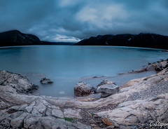Panorama of 8 shots stitched together. (christianstapor) Tags: panorama photostitch landscape lakeminnewanka lake alberta canada canadianrockies fujifilmxt10 xt10 xf1024mm wideangle