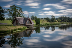 The Boathouse, Co.Kildare, Ireland (Richie Moylan) Tags: lake kildare ireland tree outdoor reflection water