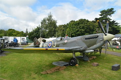 Spitfire at Hooton Park (masimage) Tags: hootonpark hooton park 1940s weekend 2016 wartime ww2 wwii soldier army navy raf usarmy jive dance thevictorygirls victorygirls victory girls belladonnabrigade belldonna brigade singers ensa vintage britain 40s reenactment reenactor