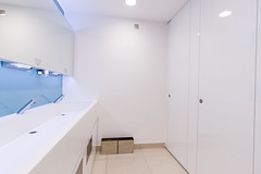 Park Street (Corley + Woolley Limited) Tags: corleywoolley fitoutinterior fitout office refurb refurbishment indoor wc bathroom was sink tap mirror