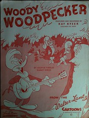 Woody Woodpecker (People, Places & Things) Tags: sheet music woodywoodpecker