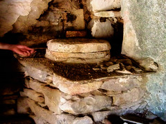 Handmill (egotoagrimi) Tags: grain hand handmill oldthings house architecture ikaria aegean greece tradition traditional october ικαρία χερόμυλοσ simplelife domesticmill stonemill
