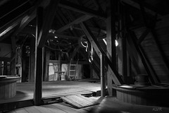 Dachboden (Kai WR) Tags: damm hessen deutschland mhle mill