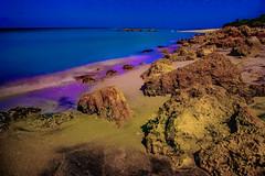 View of Caspersen Beach, Harbor Drive, Venice, Florida, U.S.A. (Jorge Marco Molina) Tags: gulfofmexico rockyshoreline 10stopfilter longexposure beach sarasotacounty sunshinestate caspersenbeach